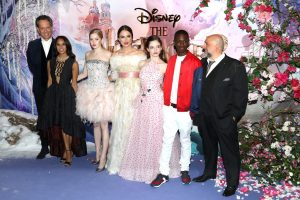 Cast of Disney's Nutcracker and the Four Realms