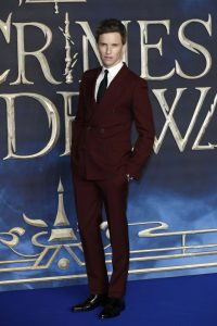 Eddie Redmayne attends the UK premiere of Fantastic Beasts: Crimes of Grindelwald in Leicester Square, London.