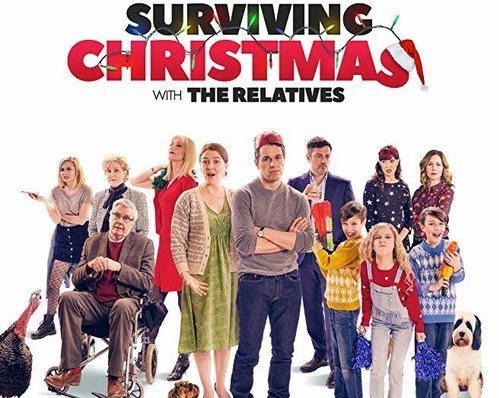 Surviving Christmas Cast.Surviving Christmas With The Relatives World Premiere