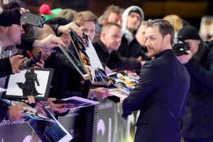 James McAvoy attends the European premiere of Glass held at Curzon, Mayfair in London.