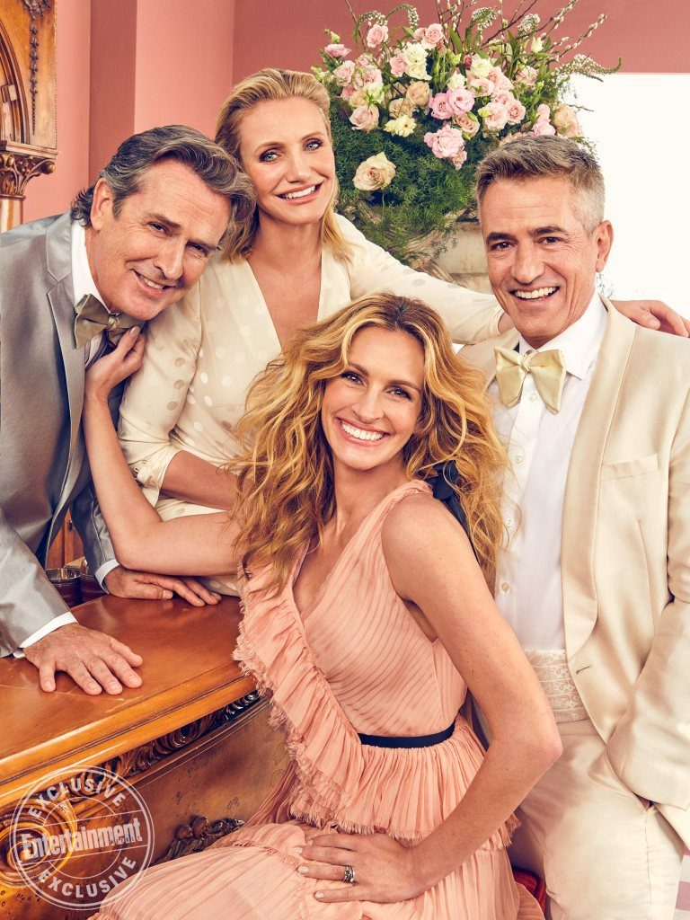 The cast of My Best Friend's Wedding reunite after 22 years Entertainment Weekly