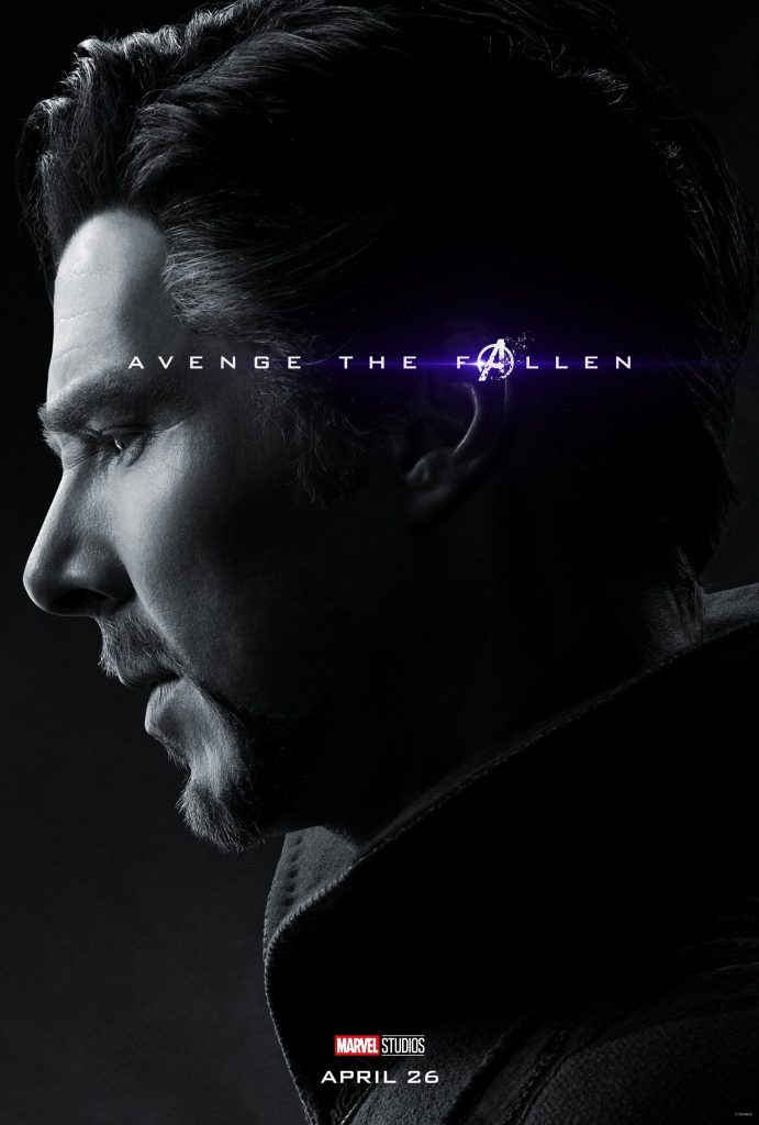 Marvel Avengers Endgame Official Character Posters Avenge the Fallen Benedict Cumberbatch as Doctor Strange