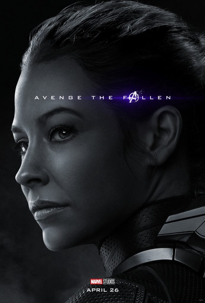 Marvel Avengers Endgame Official Character Posters Avenge the Fallen Evangeline Lily as The Wasp