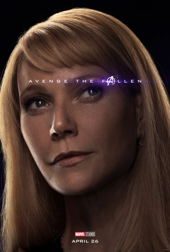 Marvel Avengers Endgame Official Character Posters Avenge the Fallen Gwyneth Paltrow as Pepper Potts