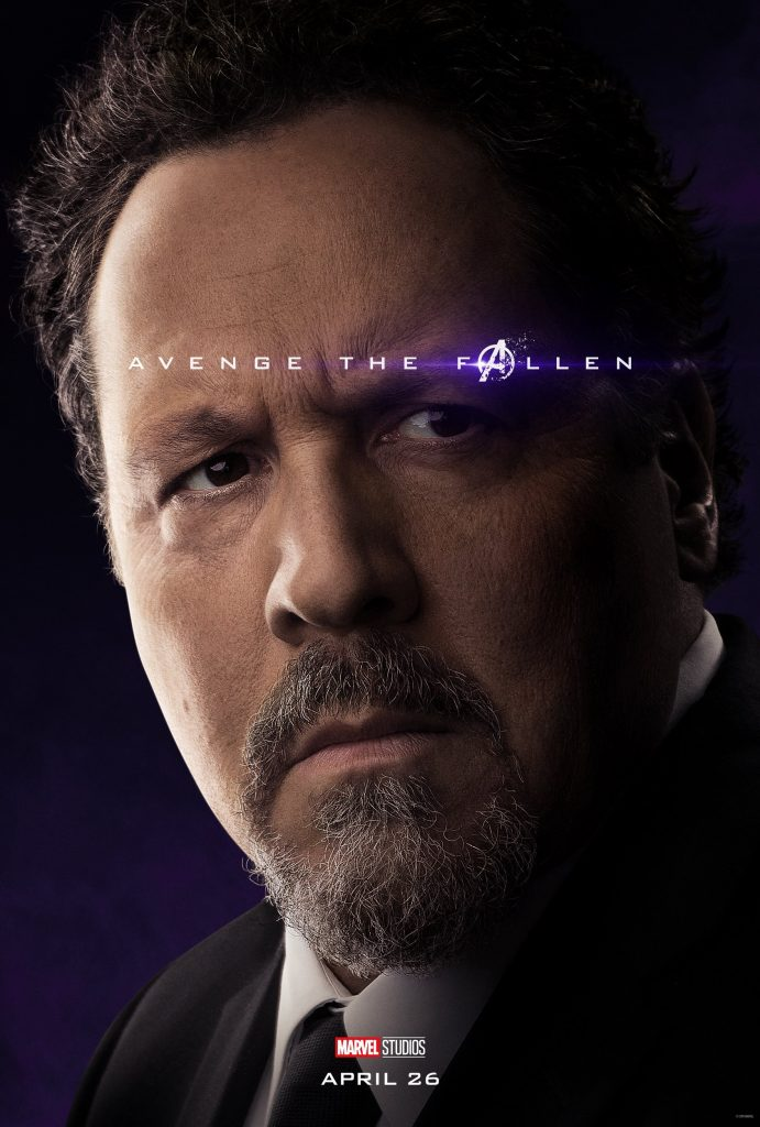 Marvel Avengers Endgame Official Character Posters Avenge the Fallen Jon Favreau as Happy Hogan