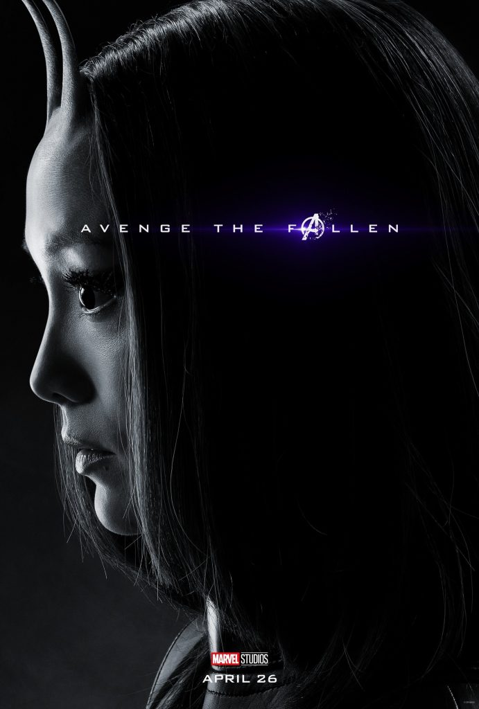 Marvel Avengers Endgame Official Character Posters Avenge the Fallen Pom Klementieff as Mantis