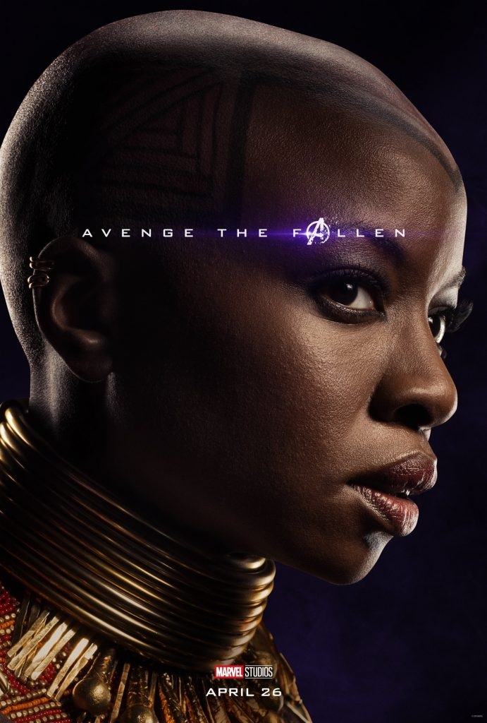 Marvel Avengers Endgame Official Character Posters Avenge the Fallen Danai Gurira as Okoye
