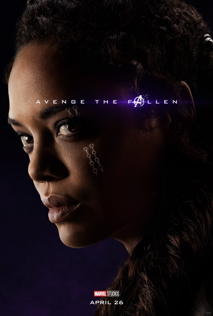 Marvel Avengers Endgame Official Character Posters Avenge the Fallen Tessa Thompson as Valkyrie