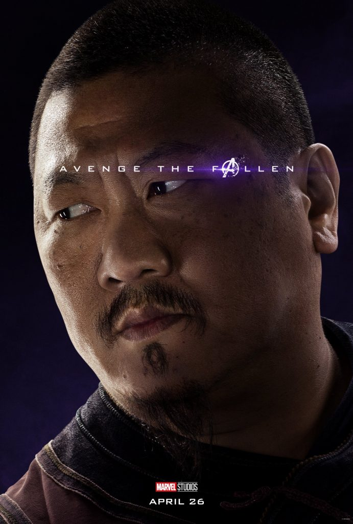 Marvel Avengers Endgame Official Character Posters Avenge the Fallen Benedict Wong as Wong