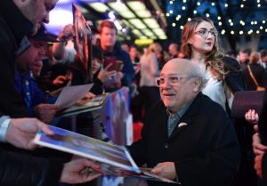 Danny DeVito attends the European premiere of Dumbo in London