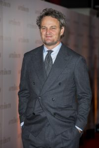 Jason Clarke attends the world premiere of The Aftermath in London.