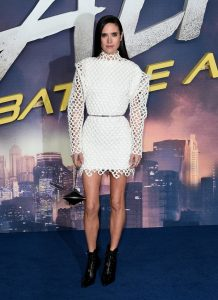 Jennifer Connelly at the world premiere of Alita Battle Angel in London.