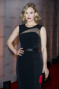 Kate Phillips attends the world premiere of The Aftermath in London.