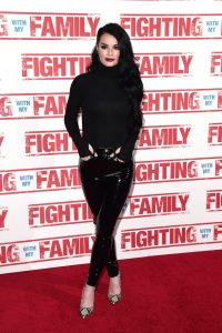 Paige Knight at the UK premiere of Fighting with my Family