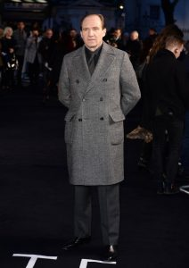 Ralph Fiennes at the UK premiere of The White Crow in London.
