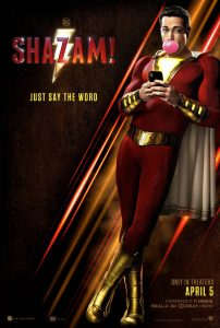 Shazam Official Movie Poster