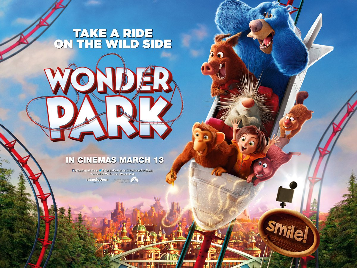 Image result for wonder park poster