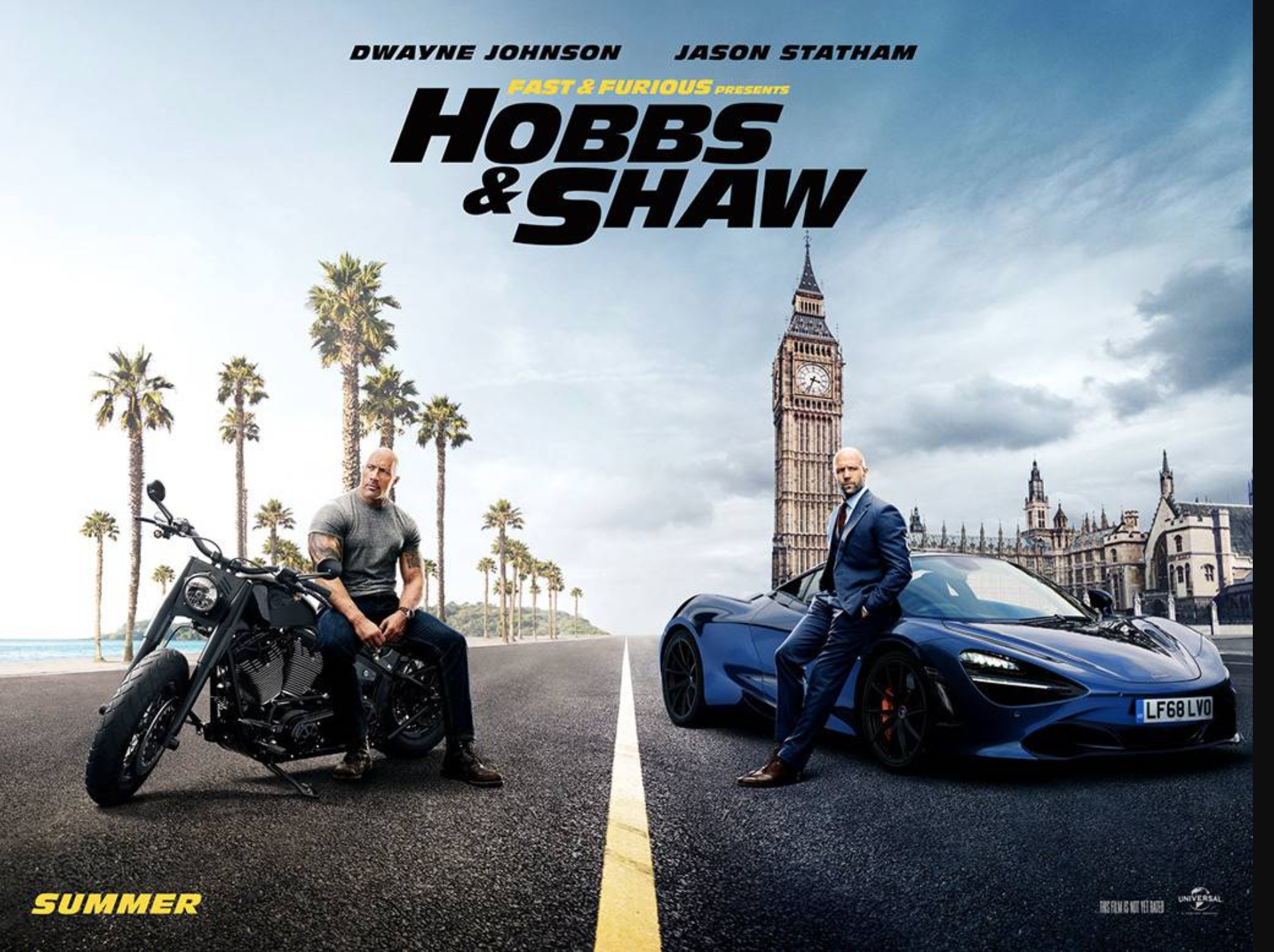 Hobbs and Shaw Wallpaper