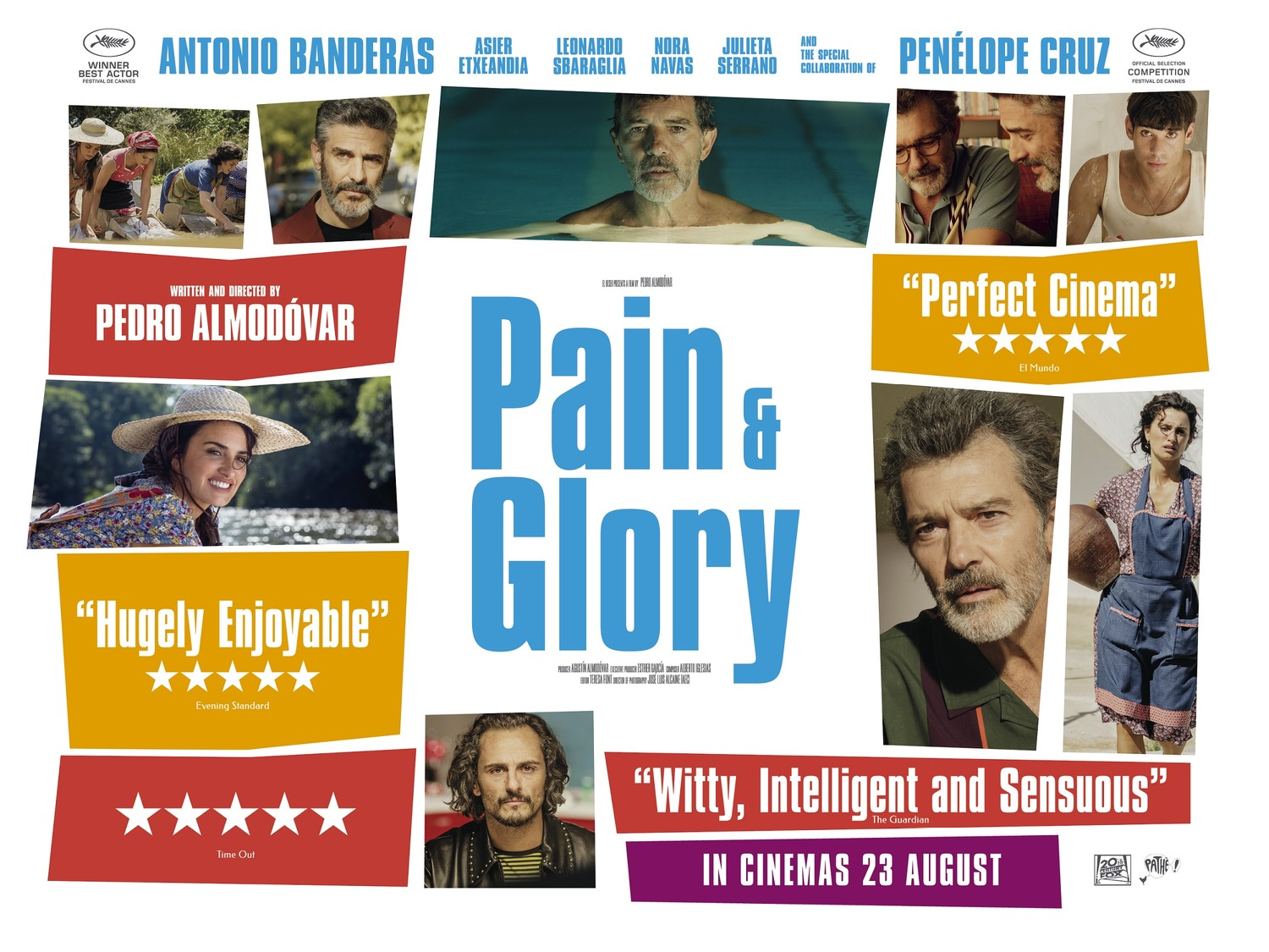 Pain and Glory Poster