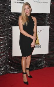 Cherry Healy attends the UK premiere of Hitsville The Making of Motown in London.