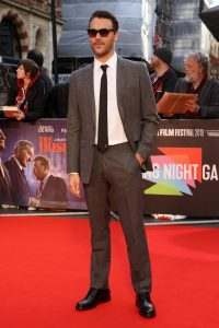 Jack Huston attends the International premiere of The Irishman during the BFI London Film Festival 2019