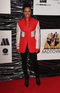 Kelly Holmes attends the UK premiere of Hitsville The Making of Motown in London.