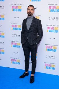 Paul Downs Colaizzo attends the UK premiere of Brittany Runs a Marathon held at Ham Yard Hotel, London.