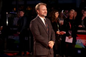 Rian Johnson at the European premiere of Knives Out held during the 63rd BFI London Film Festival