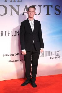 Tom Harper attends the UK premiere of The Aeronauts during the 63rd BFI London Film Festival