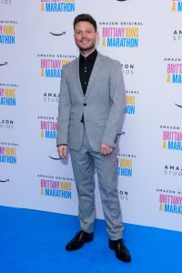 Will Manning attends the UK premiere of Brittany Runs a Marathon held at Ham Yard Hotel, London.