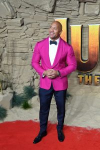 Dwayne Johnson attends the UK premiere of Jumanji: The Next Level in London