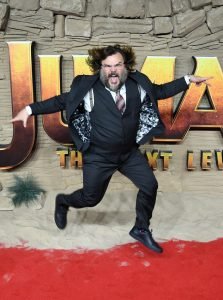 Jack Black attends the UK premiere of Jumanji: The Next Level in London