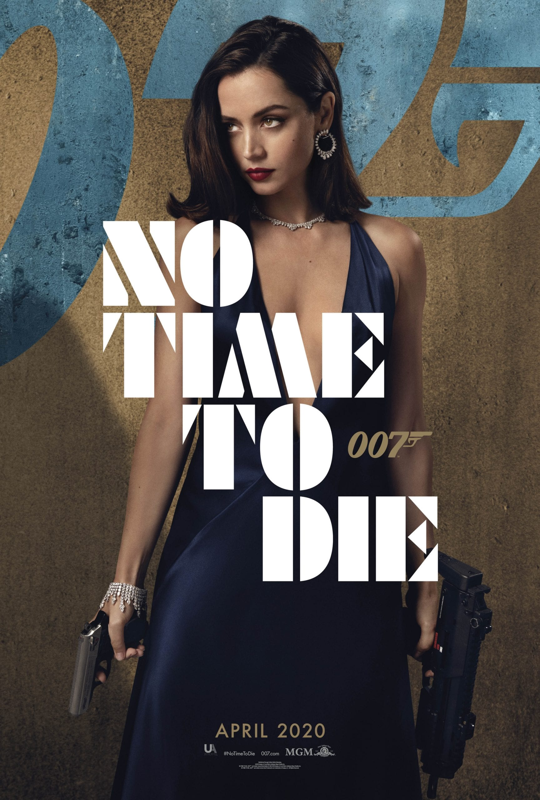 007 No Time To Die Bond 25 Character Posters Ana de Armas as Paloma