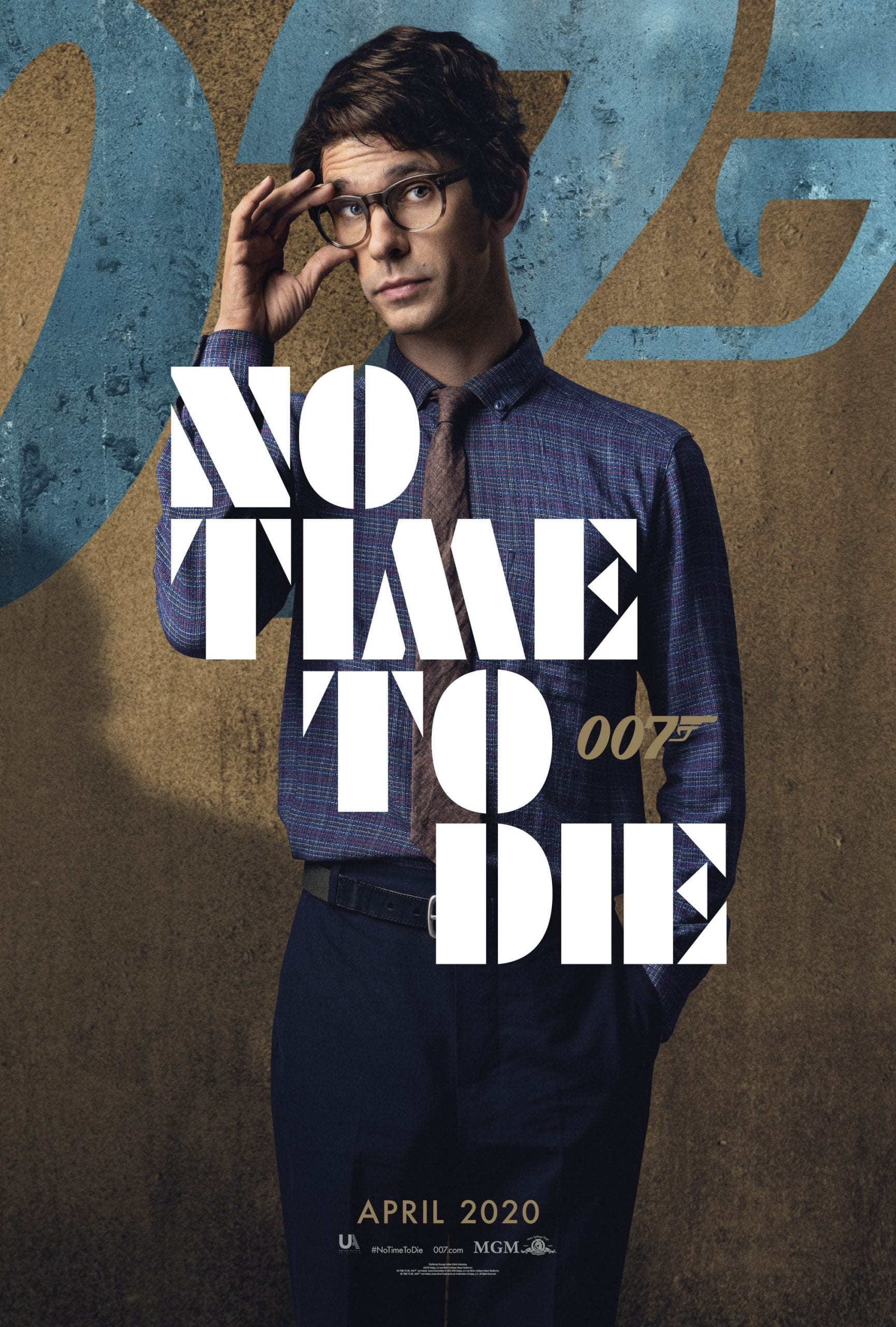 007 No Time To Die Bond 25 Character Posters Ben Whishaw as Q