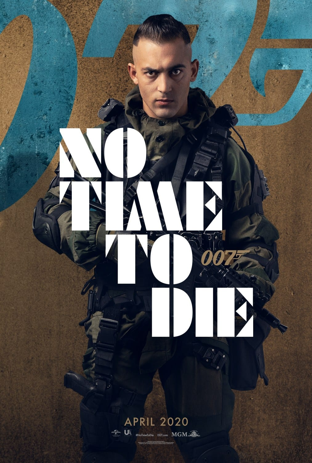 007 No Time To Die Bond 25 Character Posters Dali Benssalah as Primo