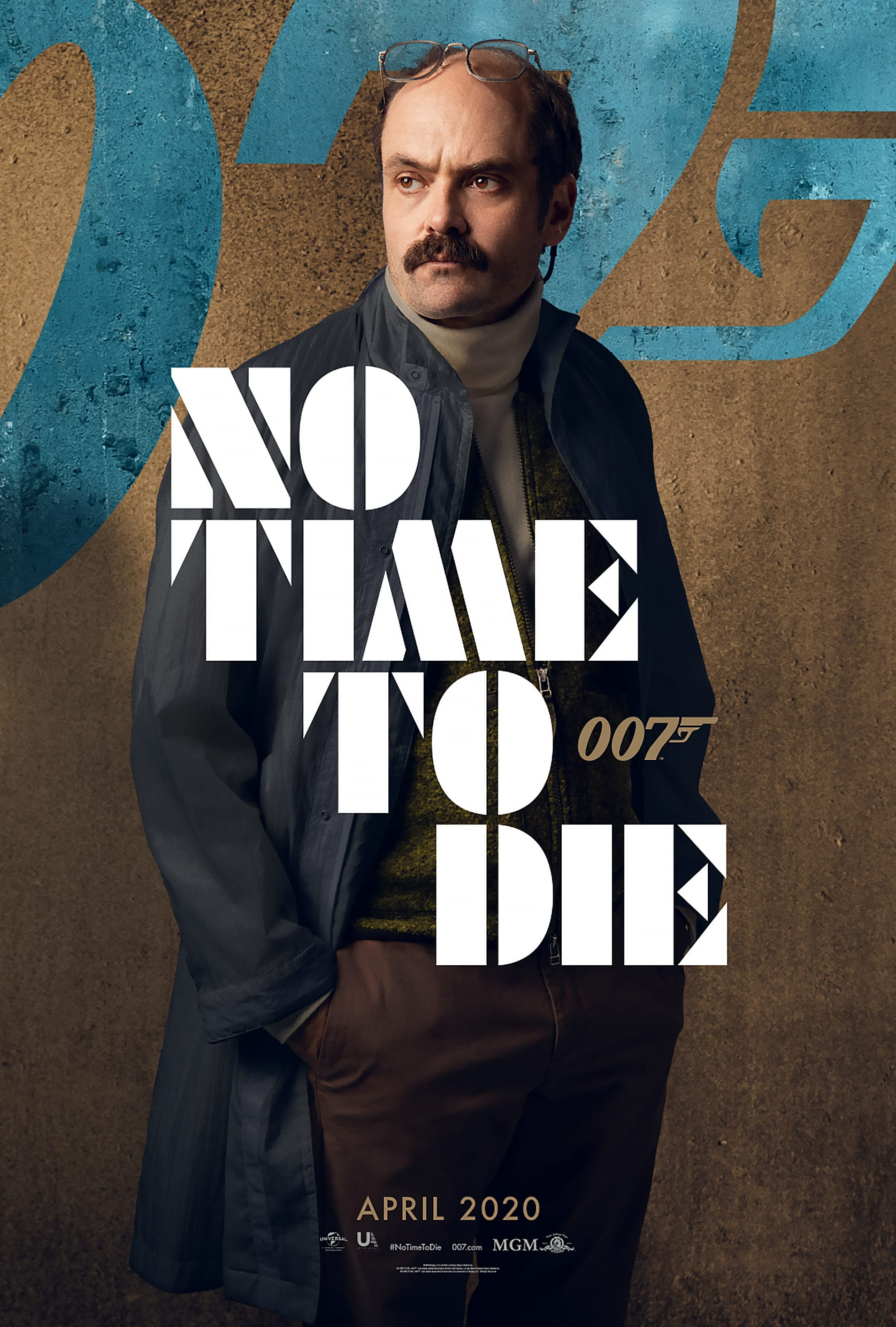 007 No Time To Die Bond 25 Character Posters David Dencik as Valdo