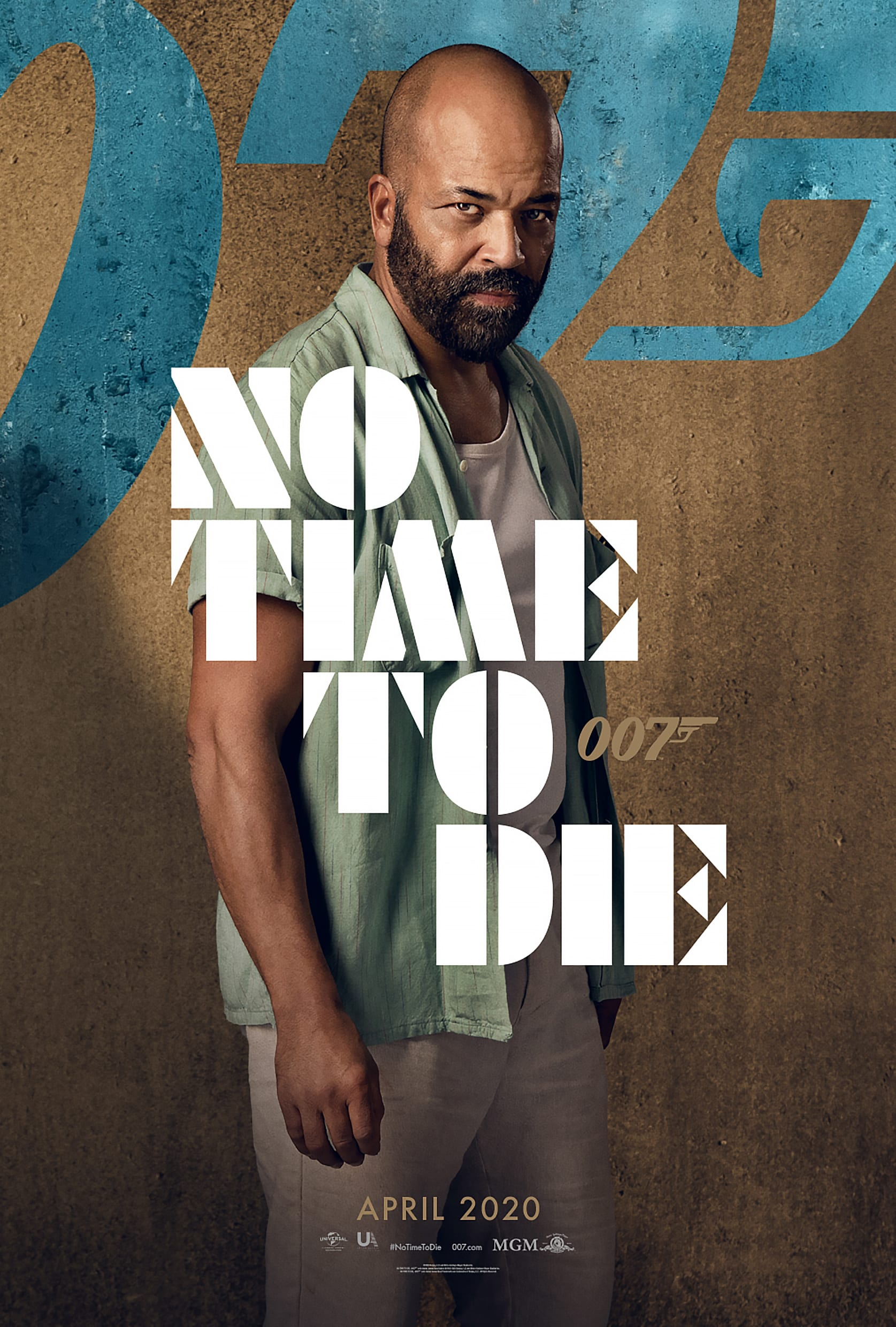 007 No Time To Die Bond 25 Character Posters Jeffrey Wright as Felix Leiter