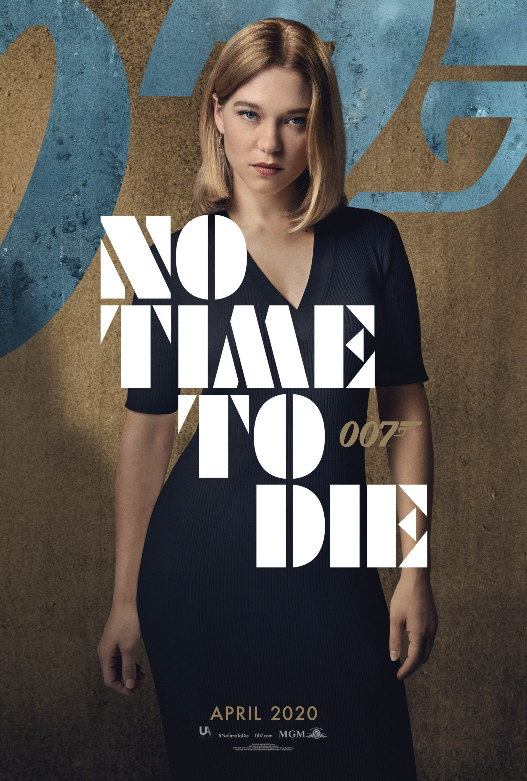 007 No Time To Die Bond 25 Character Posters Lea Seydoux as Dr Madeleine Swann