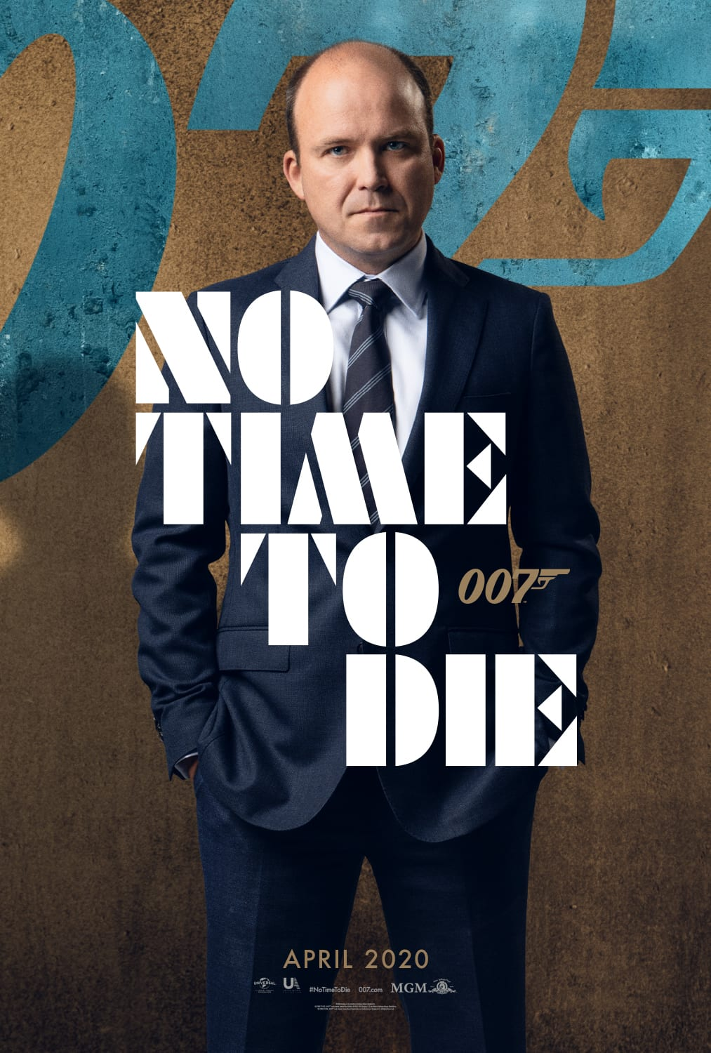 007 No Time To Die Bond 25 Character Posters Rory Kinnear as Bill Tanner