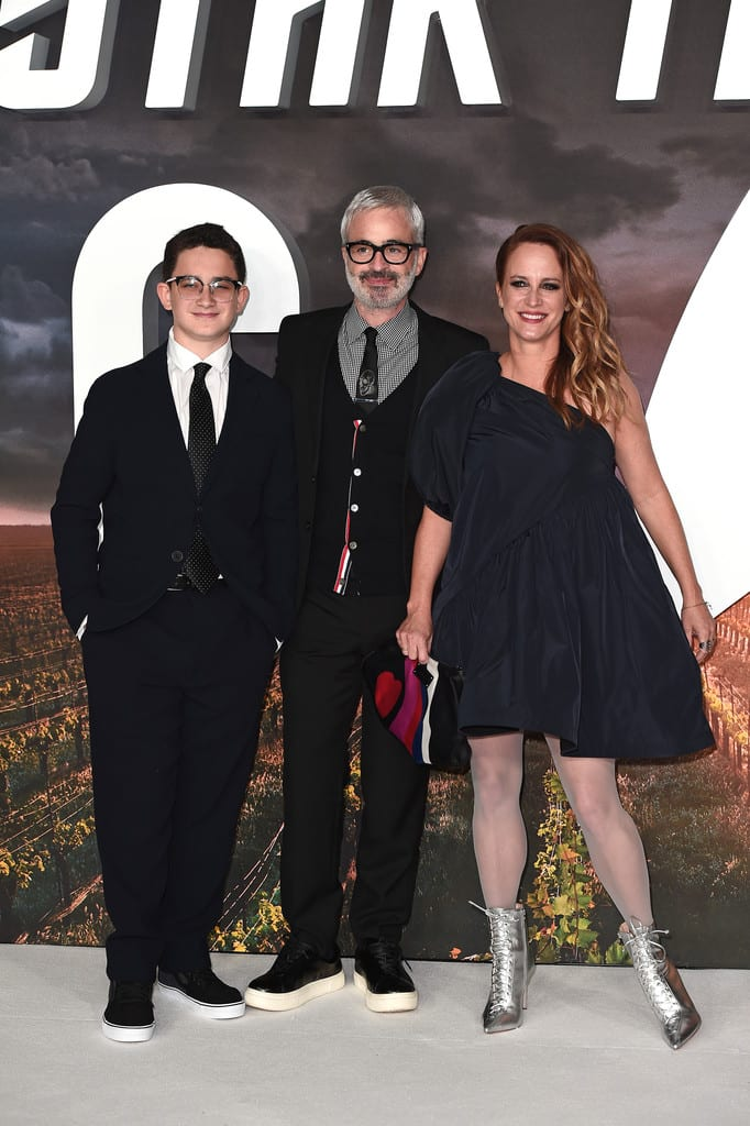 Alex Kurtzman and family Star Trek Picard World Premiere London Red Carpet