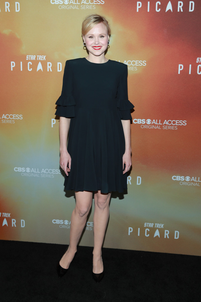 Alison Pill Star Trek Picard Hollywood Los Angeles Premiere Series 1