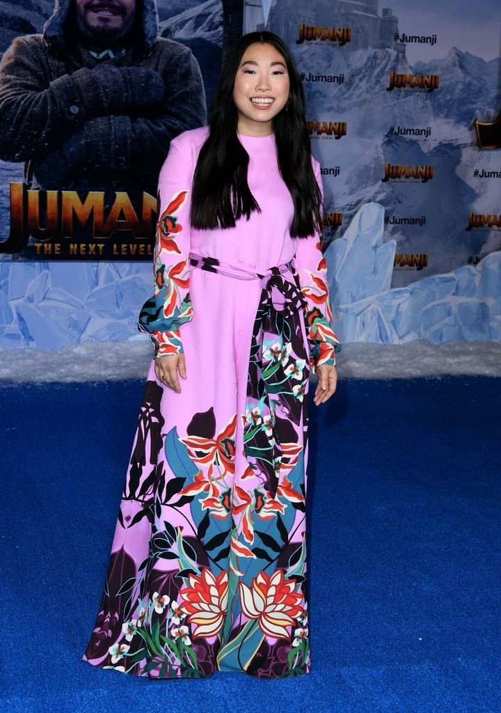Awkwafina Jumanji The Next Level World Premiere Hollywood Los Angeles Red Carpet