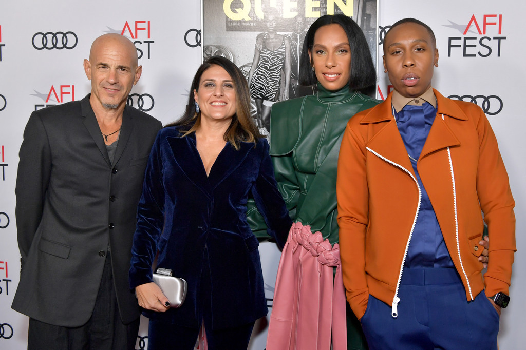 Brad Weston, Pamela Abdy, Melina Matsoukas and Lena Waithe Queen and Slim Hollywood Premiere 2019 AFI Festival Arrivals Los Angeles