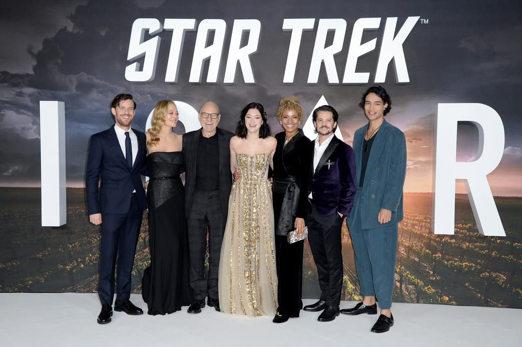 Cast of Star Trek Picard World Premiere London Red Carpet