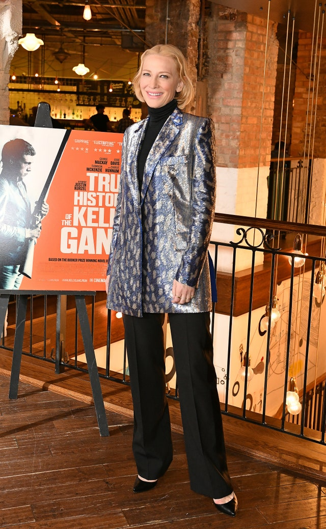 Cate Blanchett UK Premiere 0f True History Of The Kelly Gang