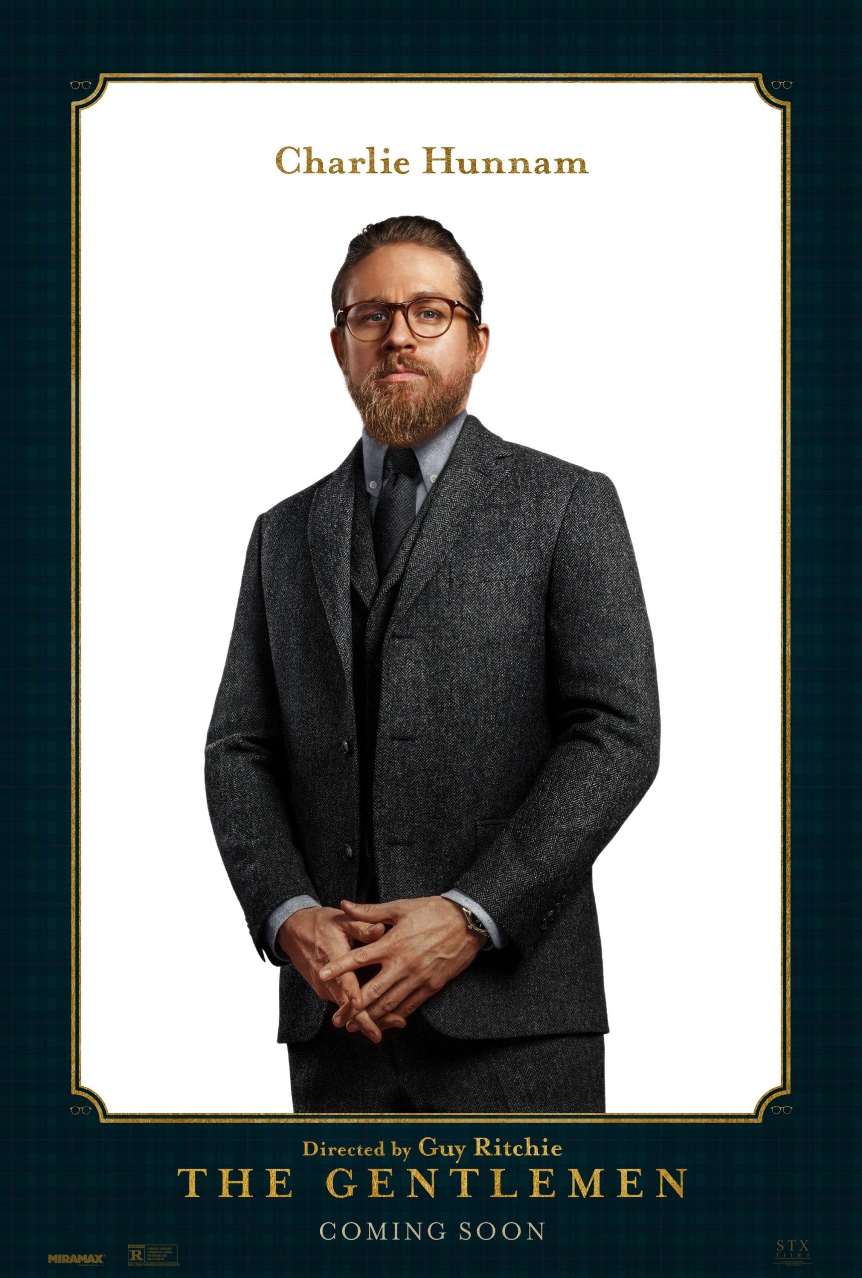 Charlie Hunnam as Raymond Smith The Gentlemen Character Posters