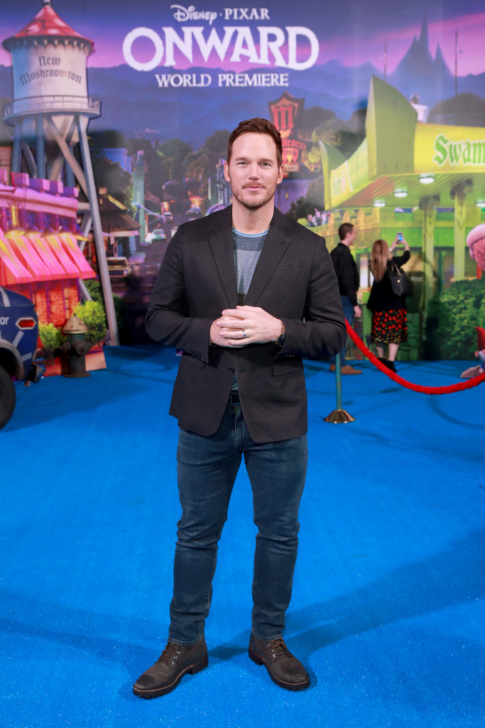 Chris Pratt Onward Hollywood Premiere Los Angeles Arrivals