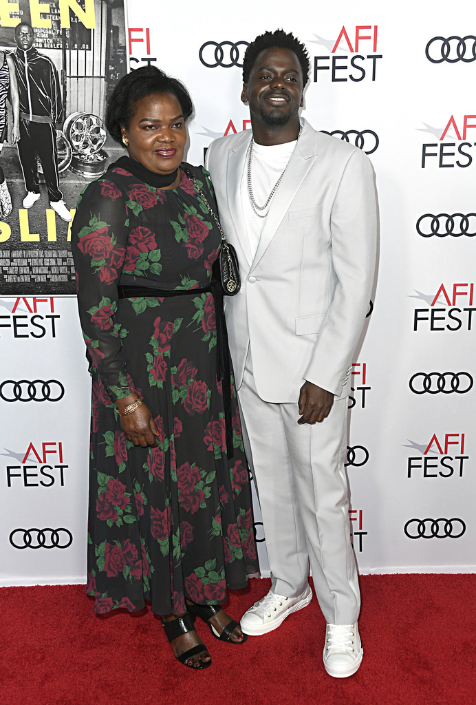 Damalie Namusoke and Daniel Kaluuya Queen and Slim Hollywood Premiere 2019 AFI Festival Arrivals Los Angeles