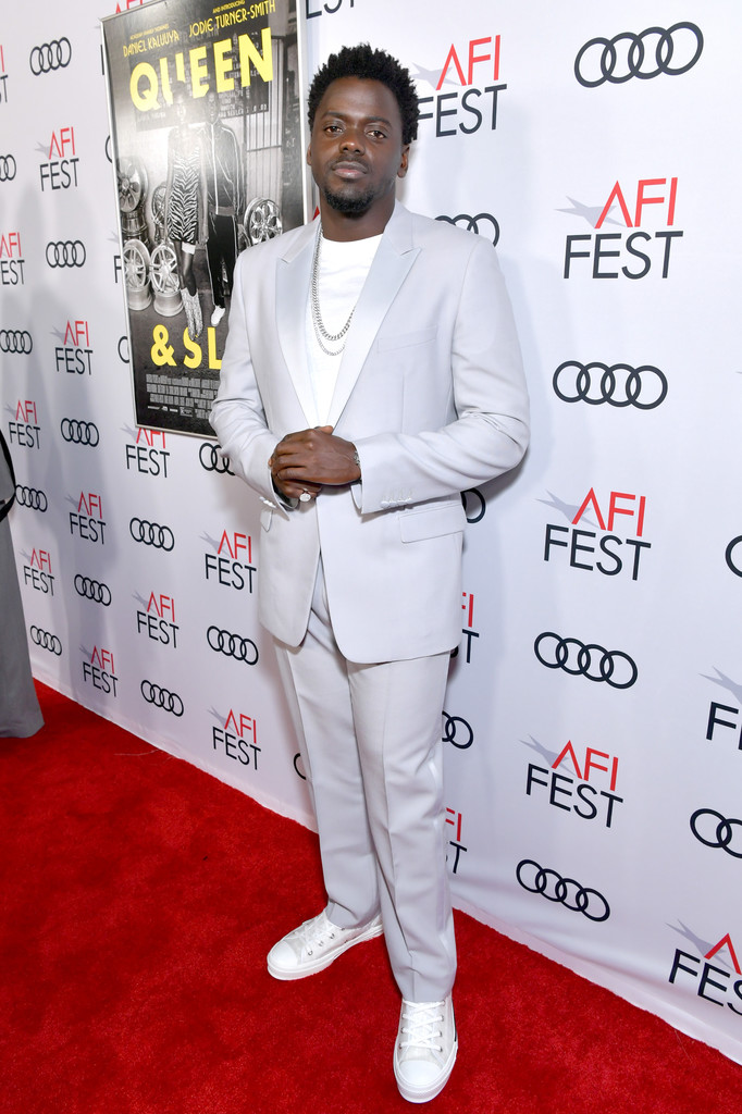 Daniel Kaluuya Queen and Slim Hollywood Premiere 2019 AFI Festival Arrivals Los Angeles