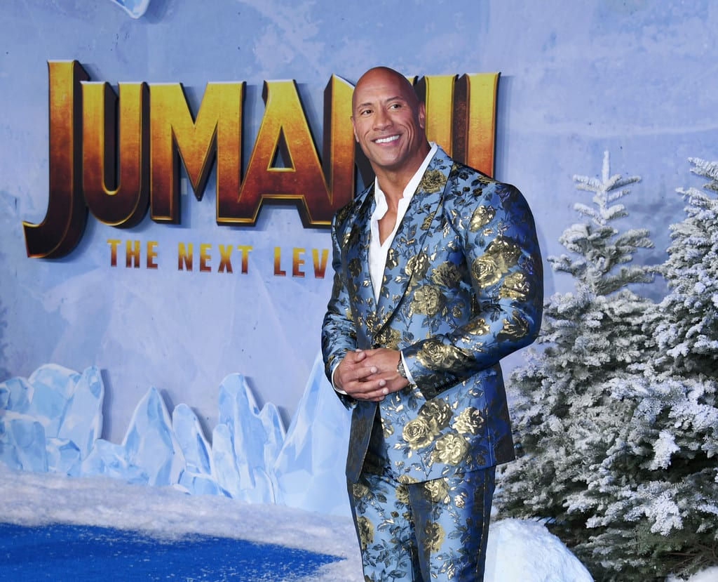 Dwayne Johnson Jumanji The Next Level World Premiere Hollywood Los Angeles Red Carpet